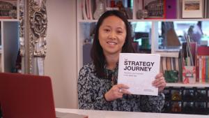 Strategy Journey Book funds on kickstarter